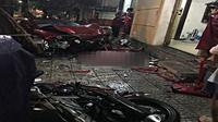 Ô tô 'điên' gây tai nạn liên hoàn rồi lao thẳng vào quán nhậu, tông thiếu nữ tử vong