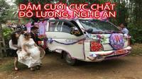 Màn rước dâu độc đáo bằng xe tải gây xôn xao của chàng trai xứ Nghệ