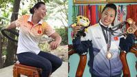Chân dung nữ VĐV khuyết tật xinh đẹp ném lốp xe phá kỷ lục Para Games