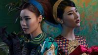 Diện áo dài truyền thống nhưng 'Cô Ba Sài Gòn' Lan Ngọc và Diễm My vẫn đầy sắc sảo
