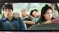 Phim hài Tết '798Mười' hé lộ bộ tứ bá đạo: Thu Trang, Kiều Minh Tuấn, Dustin và… con vịt