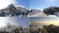 Dân mạng rầm rộ chia sẻ ảnh Fansipan phủ một màu trắng xóa, hò nhau lên Sapa 'săn' tuyết
