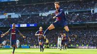 Fan Real khiến Barca 'bẽ mặt' với tấm ảnh 'những khoảnh khắc ăn mừng của năm 2017'