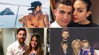 Ronaldo mừng sinh nhật mẹ, Neymar khóa môi bồ cũ mừng năm mới
