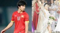 Hoa hậu H'Hen Niê - Tấm gương sáng cho Công Phượng