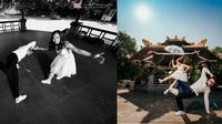 Đám cưới đáng nhớ dịp đầu năm: Cô dâu chú rể 'quẩy' tưng bừng cùng hội bạn thân