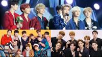 Giá trị thương hiệu tháng 1/2018: BTS 'soán ngôi' Wanna One, 'báo động đỏ' dành cho EXO