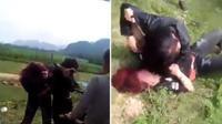 Nữ sinh lao vào đánh nhau bầm dập ở ven đường gây xôn xao dư luận