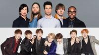 Hết The Chainsmokers, BTS giờ sắp hợp tác với cả Maroon 5?