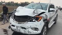 Khởi tố, bắt tạm giam tài xế lái ô tô tông chết 2 nữ sinh lớp 9