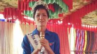 Trước 'giờ G' bán kết, Hoa hậu Hoàn vũ Việt Nam 2017 H'Hen Niê chúc U23 Việt Nam thành công