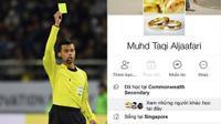 Trọng tài bắt penalty trận U23 Việt Nam - U23 Qatar đang bị dân mạng 'réo gọi' đã khoá Facebook!