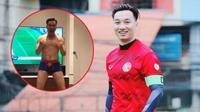 'Đàn ông nói là làm': MC Thành Trung cởi đồ ăn mừng U23 Việt Nam vào chung kết AFC 2018