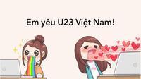 1.001 biểu cảm hài hước của fan girl với đội tuyển U23 Việt Nam!