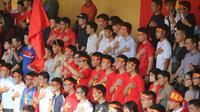 Phố đi bộ trở thành nơi ý tưởng với màn hình LED 'khủng' để xem U23 Việt Nam đá trận chung kết