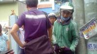 Tài xế GrabBike bị nhóm đối tượng tấn công bằng bình xịt hơi cay cướp xe máy ở Sài Gòn