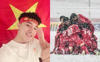 Sơn Tùng gửi lời tới U23 Việt Nam: 'Đối với Tùng các bạn là những người anh hùng'