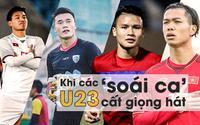 Dàn 'soái ca' U23 Việt Nam đồng loạt khoe giọng hát, ưu thế nghiêng về ai?
