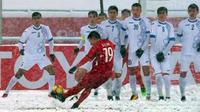 Bình chọn bàn thắng đẹp nhất giải U23 châu Á 2018: Quang Hải 'độc chiếm' ngôi đầu