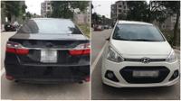Gần chục xe ô tô bị kẻ trộm mặc đồng phục Grab bẻ gương, tháo logo trong đêm