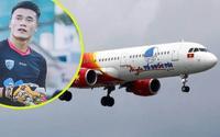 Vietjet hay doanh nghiệp nào sử dụng 'chui' hình ảnh Bùi Tiến Dũng có thể bị CLB Thanh Hóa kiện