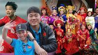 Bất ngờ khi U23 Việt Nam hợp vai trong Táo Quân: Nam Tào - Bắc Đẩu thuộc về Xuân Trường và Đức Chinh