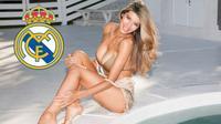 Ngắm vòng một căng tràn nhựa sống của siêu mẫu nội y mê Real Madrid