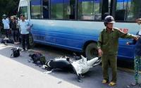 Hai anh em ruột đi xe máy về quê ăn Tết thì xảy ra tai nạn đau lòng