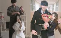 Cặp đôi Hàn Quốc 'chàng 1m93, nàng 1m63' đẹp long lanh khiến cư dân mạng ganh tỵ không thôi
