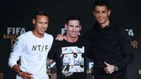 Top 10 'nam thần' của làng bóng đá thế giới: Ronaldo 'ngồi mâm trên' Messi