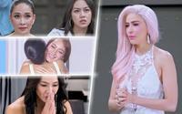 Từ lúc nào The Face Thái trở thành nơi các 'chị Đại' hết ôm ấp đến xin lỗi nhau thế này?