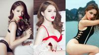 Hương Giang diện bikini nóng bỏng thế này bảo sao không giành vương miện Hoa hậu