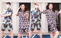 'Lầy' như Hoà Minzy - Đức Phúc: Nửa đêm diện pijama quay clip nhảy nhót 'tăng động'