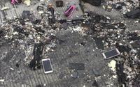 Xe tải bốc cháy trên đường cao tốc, hàng nghìn chiếc iPhone X và linh kiện rơi tung tóe xuống đường