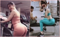 Tập thể dục để khỏe hay để khoe thân vậy Angela Phương Trinh?