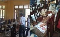 Đang học, 3 học sinh lớp 12 ở Hà Nội bị mảng trần nhà rơi trúng đầu phải nhập viện