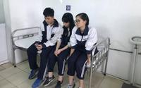 Vụ mảng trần rơi khiến 3 học sinh nhập viện: Nhà trường chuyển cả lớp qua phòng thí nghiệm