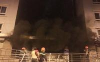 Những hình ảnh kinh hoàng trong vụ cháy chung cư cao cấp Carina ở Sài Gòn