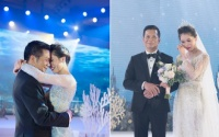Cận cảnh đám cưới như một đại dương cổ tích của Shark Hưng và cô dâu xinh đẹp