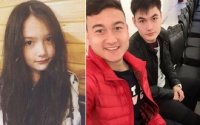 Chân dung em trai và em gái có ngoại hình thu hút của thủ môn đẹp trai Lâm Tây