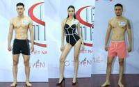 Dàn trai xinh gái đẹp sở hữu chiều cao 'khủng' đổ bộ Siêu mẫu Việt Nam 2018