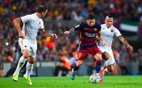 Đại thắng Roma, Barca đặt một chân vào bán kết Champions League