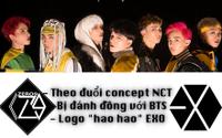 Nhóm nhạc của Tăng Nhật Tuệ - Zero 9: Logo giống EXO, phát ngôn 'bị đánh đồng BTS'
