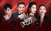 The Voice 2018: Bộ tứ HLV đình đám chính thức lộ diện!