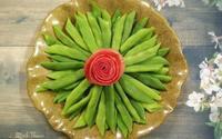 Mẹ đảm khoe các đĩa rau khiến dân mạng thốt lên 'Chỉ là rau thôi có cần đẹp thế không?'