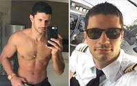 Chàng phi công điển trai 'đốt mắt' dân mạng với thân hình nóng bỏng