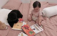 Hot mom Heo Mi Nhon gây sốt mạng xã hội với câu hỏi 'có nên nuôi chó khi nhà có em bé hay không?'