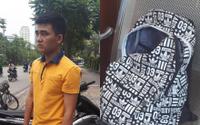 Tài xế xe ôm truy đuổi, đạp ngã tên cướp giật balo của nữ sinh viên