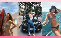Quỳnh Anh Shyn diện bikini họa tiết, Thiều Bảo Trang gia nhập hội khoe mông dù chỉ diện quần jeans ôm 'kín như bưng'
