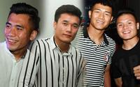 Anh em Bùi Tiến Dũng, Đức Chinh, Quang Hải phấn khích khi xem phim bóng đá '11 niềm hy vọng'